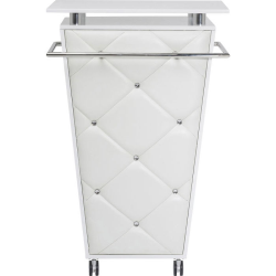 BAR LADY ROCK TROLLEY WHITE